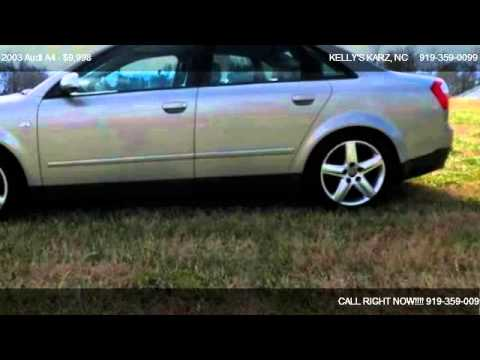 2003 Audi A4 1.8T QUATTRO MAN - for sale in Garner, NC 27529