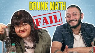Drunk People Try To Solve Math Problems   BuzzFeed India