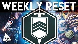 Destiny Weekly Reset - Nightfall, Heroic, Prison & More | 23rd June