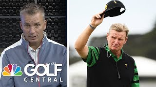 Ernie Els says he won't return as Presidents Cup captain | Golf Central | Golf Channel