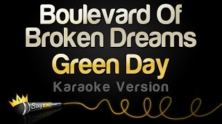 Gambar cover Green Day - Boulevard Of Broken Dreams (Karaoke Version)