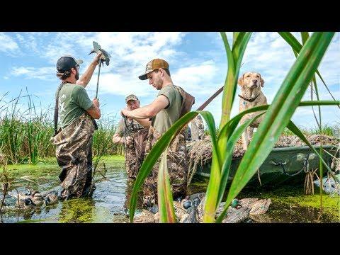PUBLIC MARSH Duck Hunting Opening Day 2018!!!