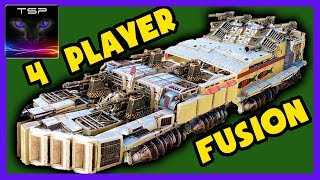 Crossout #357 ► Leviathan BATTLESHIP in PvP - 4 Player Crossout Fusion Build