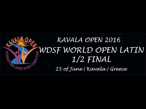 WDSF World Open Latin | 1/2 Final