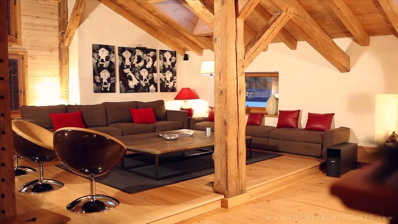 Chalet ERIKA - Megève - Eden Luxury Homes - YouTube
