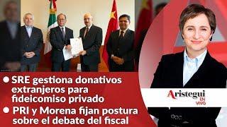 #AristeguiEnVivo 24 de octubre: ¿restituirán al fiscal?; audiencias de la CIDH sobre México...