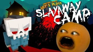 Annoying Orange Plays - Slayaway Camp #1: HILARIOUS HORROR!