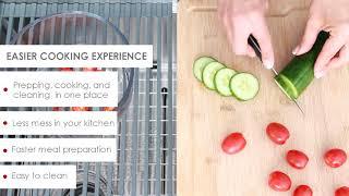 Versa 25 S 612W  | Workstation Kitchen Sink | Stylish
