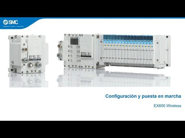 SMC EX600-W -- Configuración y puesta en marcha