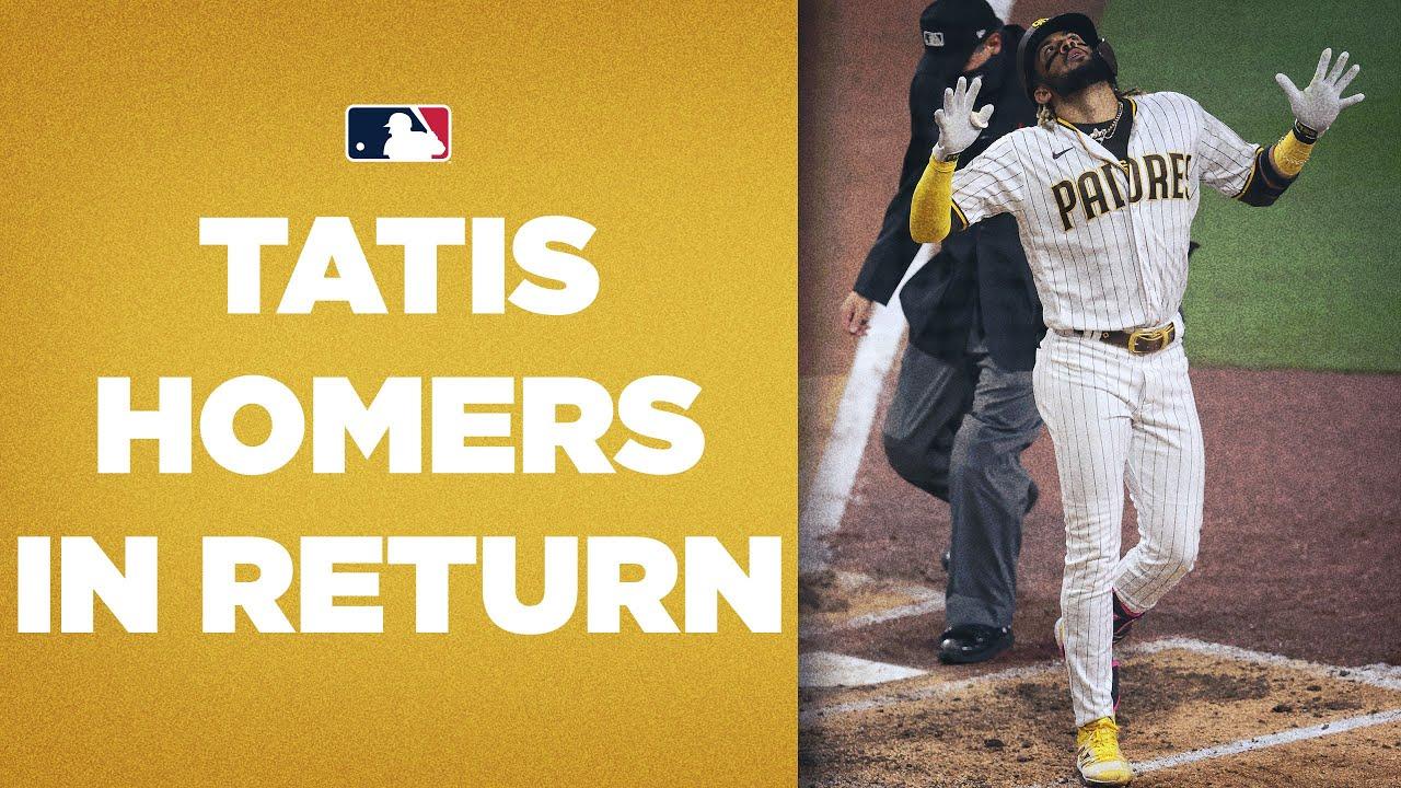 Fernando Tatis Jr. CRUSHES homer in return! (El Niño gives Padres lead with homer)