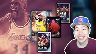 Massive Nba Awards Pack Opening - New 98 Ovr Master Shaq & 99 Iverson