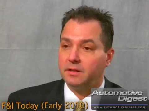 Bob Tschippert, Zurich Financial Services, F&I Today (Early 2010)