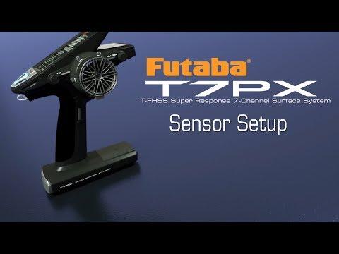 Futaba 7PX Sensor Setup : Tips & How-To's