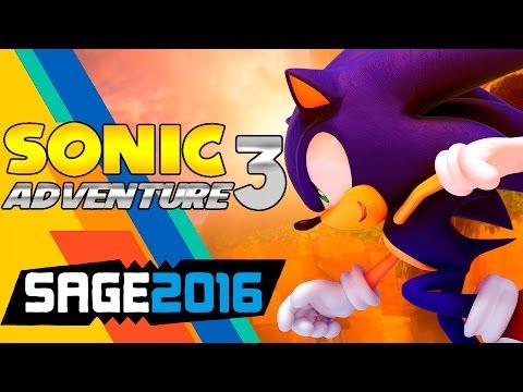 Играем в фан-игры - Sonic Adventure 3 (SAGE 2016)