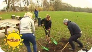 Fit werden mit Gärtnern | SAT.1 Frühstücksfernsehen