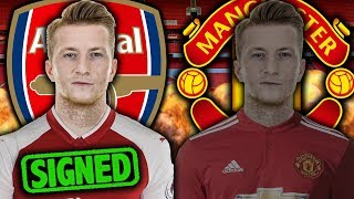 Arsenal To Beat Manchester United To The Signing Of Marco Reus?! | Continental Club