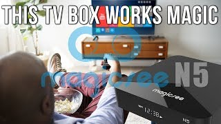 Magicsee N5 Amlogic S905X Quad Core Android 4K TV Box Review
