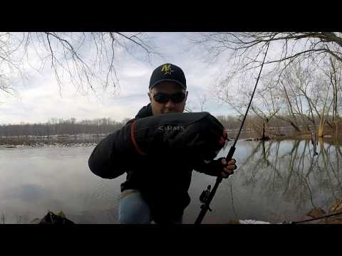 Winter Fishing Gloves - Simms Guide Windbloc Half Finger Mitt