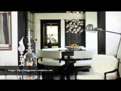 black white art interior decorating youtube