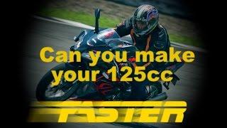 يمكنك أن تجعل الخاصة بك 125cc أسرع??????