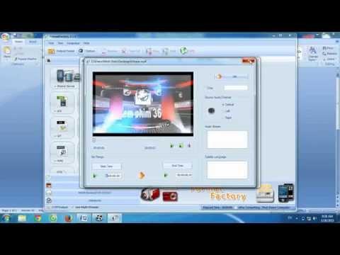 Cách chuyển đổi đuôi video bằng phần mềm Format Factory