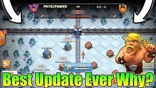 Why Clan War League Is The Best Update For All Clans In Clash Of Clans? | Clan war league