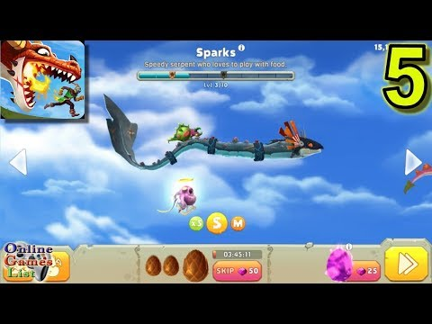 Hungry Dragon Sparks Gameplay Part 5 (ANDROID IOS)