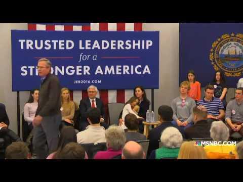 Jeb Bush  'Please clap'