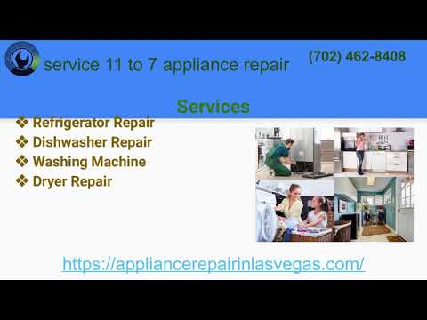 The Affordable appliance repair service in Las Vegas