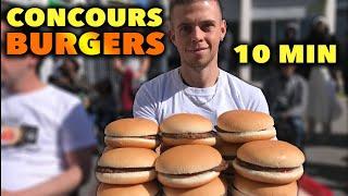 CONCOURS du PLUS GROS MANGEUR de BURGERS !!