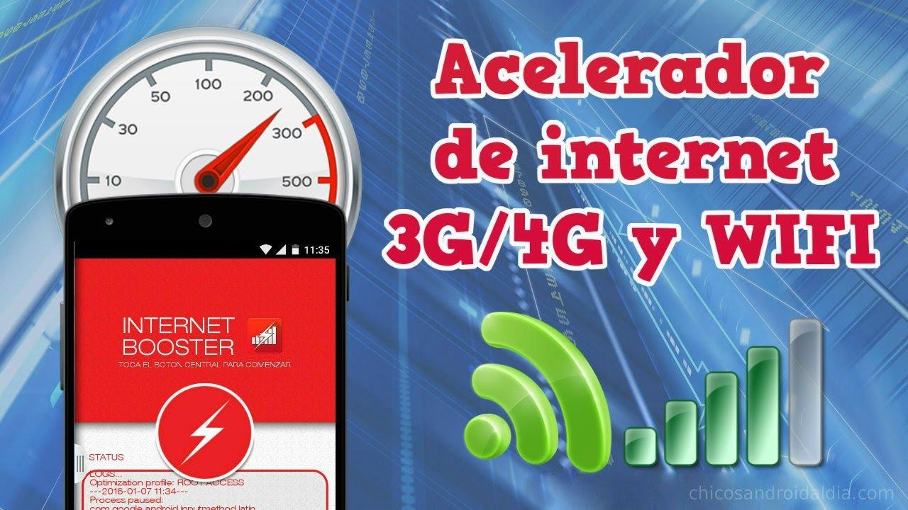 acelerador de internet 3g android