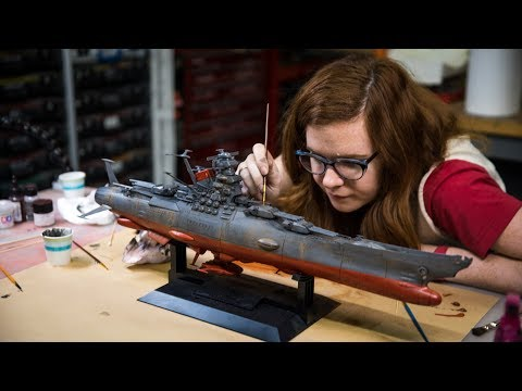 Model Behavior: Weathering a Model (Space)Ship!