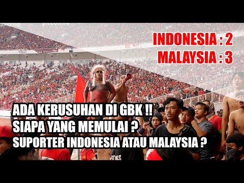 INI REAKSI SUPORTER KETIKA INDONESIA KALAH DI RUMAH SENDIRI (INDONESIA VS MALAYSIA 2-3)