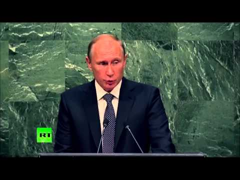 Vladimir Putin - Intervento all'assemblea generale dell'ONU in italiano