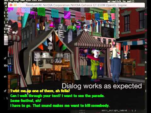 A point-and-click interface for Grim Fandango