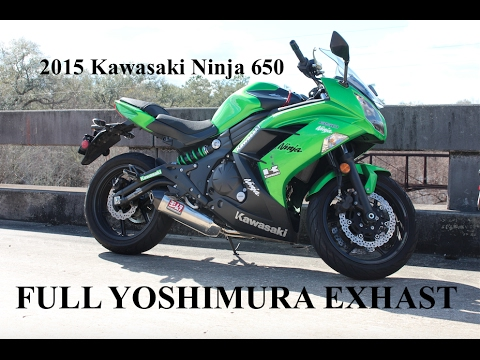 Kawasaki Ninja R Aftermarket Exhaust
