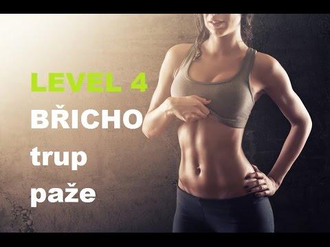cvičení na břicho s vlastní vahou a na míči