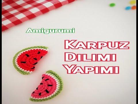 Amigurumi Elma Tarifi | Elmalar, Amigurumi, Tığ işleri | 360x480