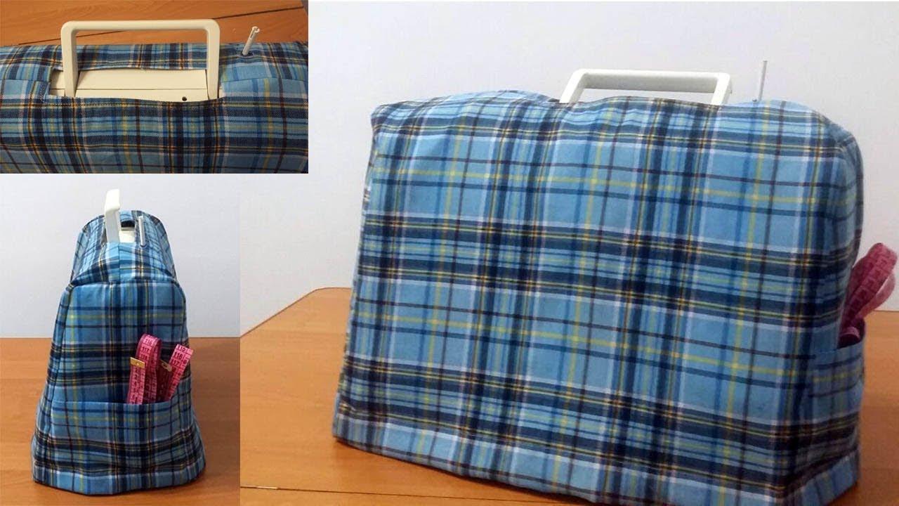 8d7594f617ec Чехол для швейной машинки. Обзор пошива - YouTube