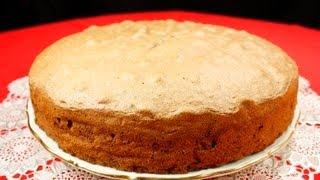 Шоколадный бисквит видео рецепт