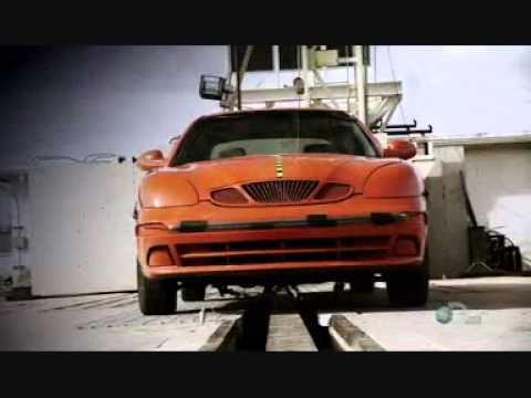 Mythbusters - Car crash force