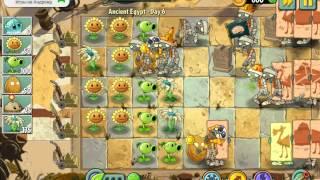 Древний Египет День 6 Растения против зомби 2 используем Салат Айсберг игры на Андроид