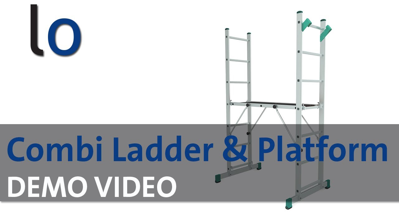 Diy 5 Way Combination Ladder Amp Platform Ladders Online