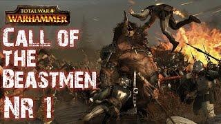 Lets Play Total War Warhammer: Call of the Beastmen (German HD) #01