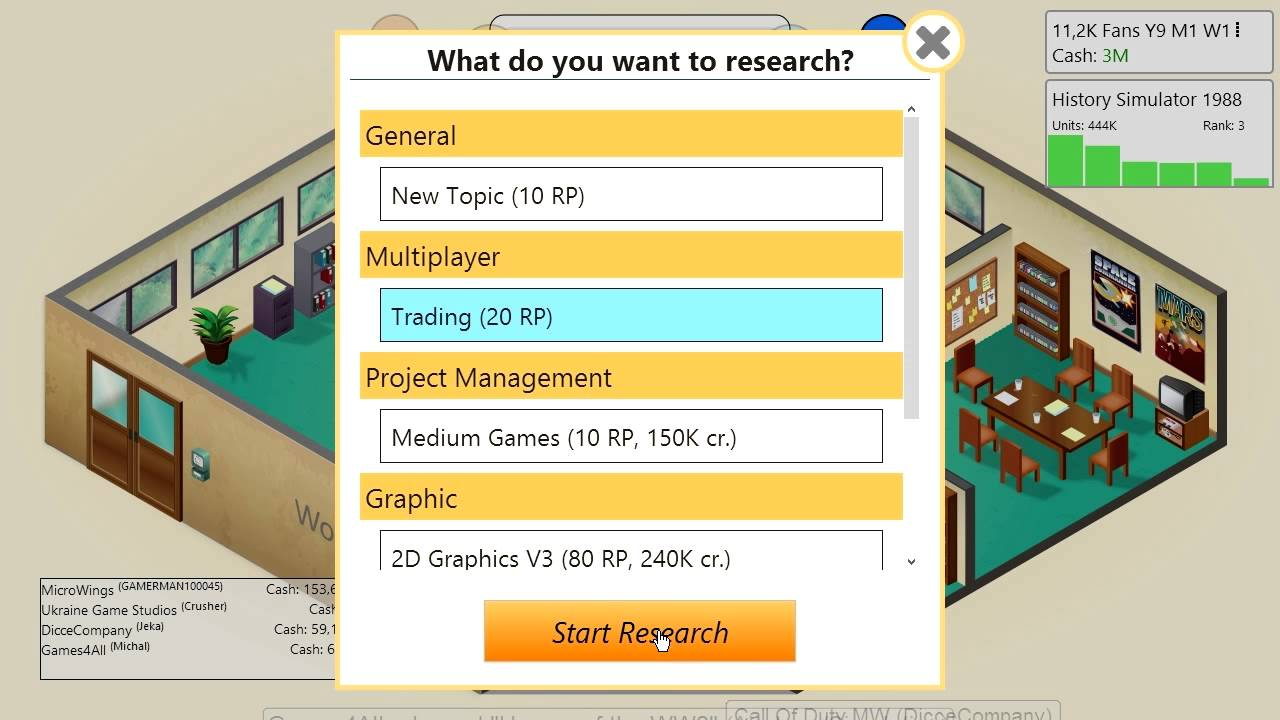Game Dev Tycoon Multiplayer Mod - GDTMP (Basic Demo)