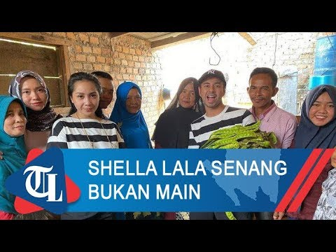 Komentar Shella Lala Saat Dikunjungi Raffi Ahmad Dan Nagita Slavina | Tribun Lampung News Video