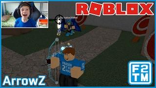 FIRST YOUTUBER PLAY! New Game - Roblox ArrowZ [Alpha]