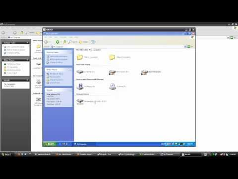 Mapping Shared Drive/Folder In Windows XP