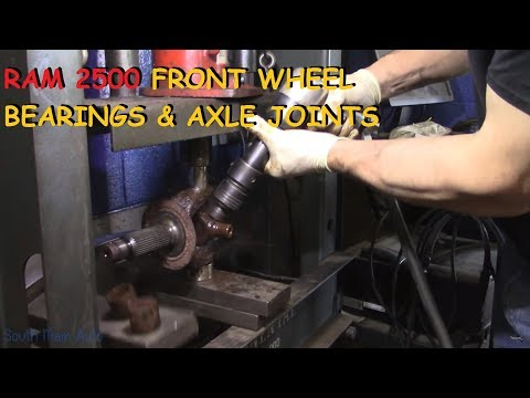 Dodge Ram 2500/3500: Front Wheel Bearings & U-Joints - Part I