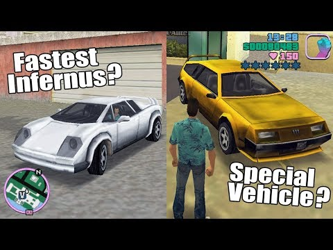 GTA Vice City Best Cars